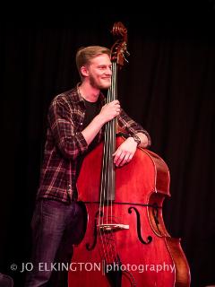 Pete Thomas Bass Guitar North Dorset Folk Festival 2014