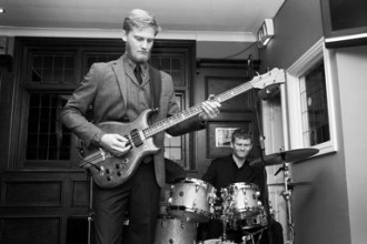 Pete Thomas with Tom Sibly for the Tom Michell Trio