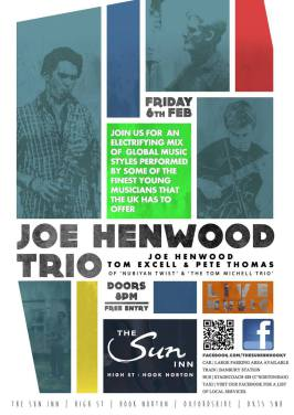 Joe Henwood Trio