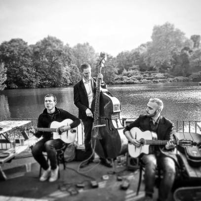 The Todesco Trio in Battersea Park
