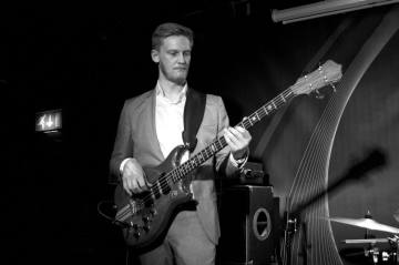 Pete Thomas with the Tom Michell Trio at the Bullingdon, Oxford