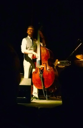 Pete Thomas with the Tom Michell Trio at the Kenton Theatre