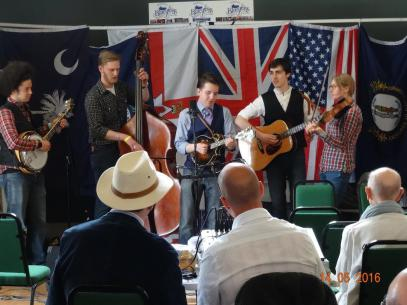 The Vanguards at the Naseby Bluegrass Festival