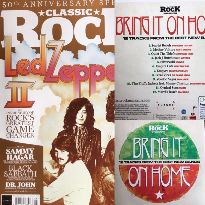 Classic Rock Magazine featuring Silvervoid track Revive It