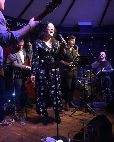 Natalia Amy Douglas, Pete Thomas et al play jazz at Toulouse Lautrec