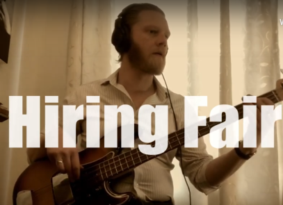 Hiring Fair – Pete Thomas in play – Benji Kirkpatrick and the Excess